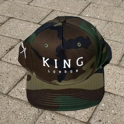 King Apparel Staple Snapback Camo