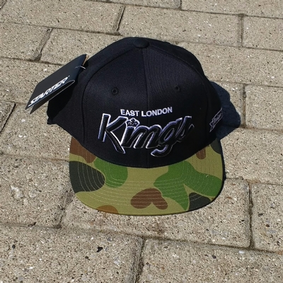 King Apparel Starter ELK Black Camo Snapback