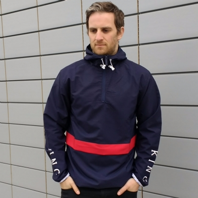 King Apparel Staple Windbreaker Navy