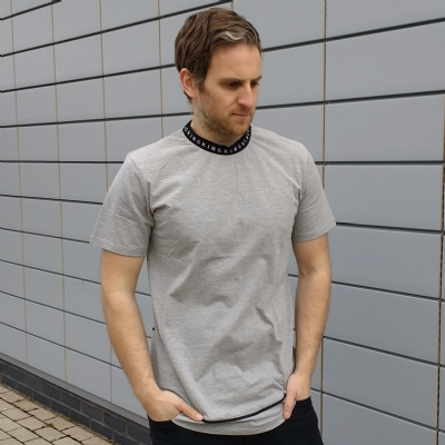 King Apparel Lab Tee Shirt Grey