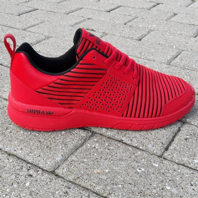 Supra Scissor Red-Red trainers