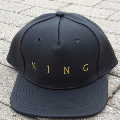 King Apparel Pitchford Snapback Black