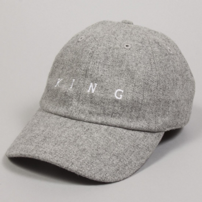 King Apparel Tennyson Curved Peak Hat Mist