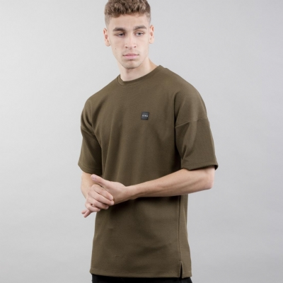 King Apparel Tunmarsh Oversized Tee Shirt Fern
