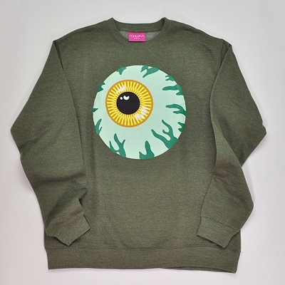 Mishka Keep Watch Crewsweat Moss Green
