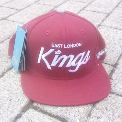 King Apparel ELK Script Cap Oxblood
