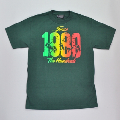 The Hundreds Summers Green Tee Shirt