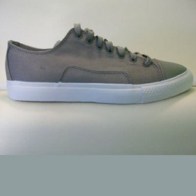 Diamond Supply Brilliant Low Grey Canvas Trainers