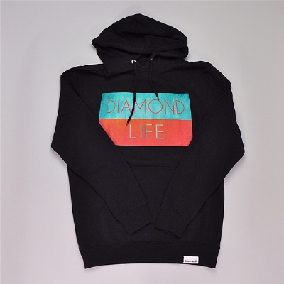 Diamond Supply Co Life Flag Hoodie