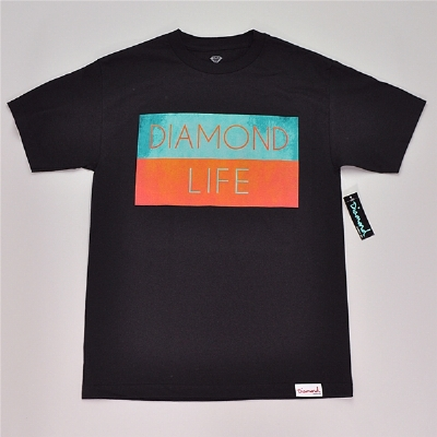 Diamond Supply Co. Diamond Life Flag Tee Shirt