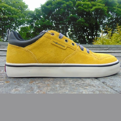 The Hundreds Riley Low Mustard Trainers