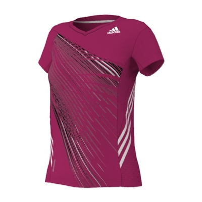 Adidas Graphic Tee Pink - Ladies