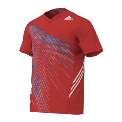 Adidas Graphic Tee Shirt Red
