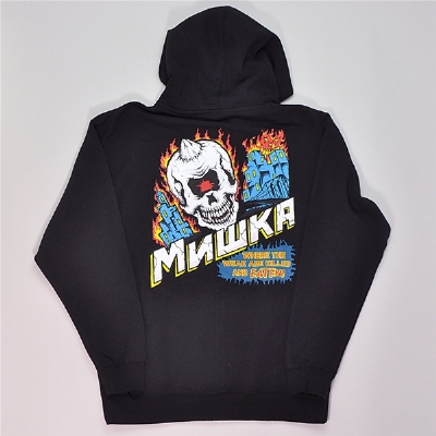 Mishka City On Fire Hoodie