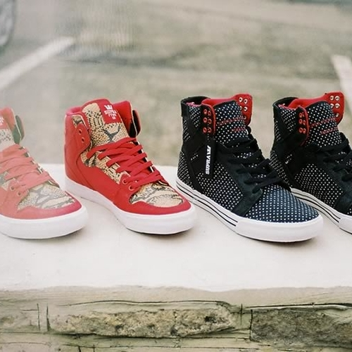Supra Vaider And Skytop Su13